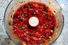 The Pioneer Woman restaurant style salsa