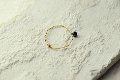 #mayumirings  #lapis #lazuli #accessories #jewelry #goldfilled #14kgf #handmade