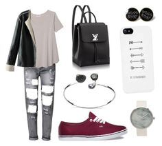 """•"" by potter28 on Polyvore featuring Olive + Oak and Vans"