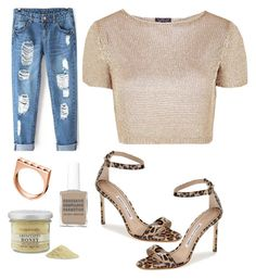 """""""#25"""" by rinkyy ❤ liked on Polyvore featuring moda, Obsessive Compulsive Cosmetics, Manolo Blahnik, Calvin Klein, Topshop i Williams-Sonoma"""