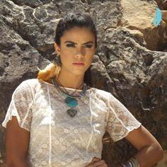 Look azulmenta coleção Labirinto Colorido www.azulmenta.com.br