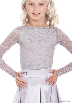 DSI Evita Juvenile Dance Leotard 1098J | Dancesport Fashion @ DanceShopper.com