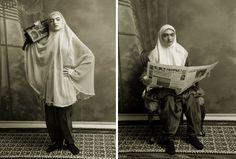 """""""She Who Tells a Story"""" Shadi Ghadirian"""