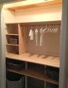 guest room closet makeover, i love this.  Hoping my husband can create it