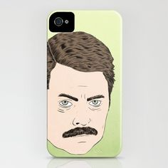 RON F'IN SWANSON as an iPhone case?! Is $35 too much to spend on a single item for the planned Ron Swanson kit, Amy?