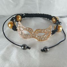 Masquerade Mask Rose from Anns Bands for $9.99