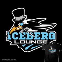 Iceberg Lounge | Shirtoid #buby87 #comic #comics #dccomics #film #movie #oswaldchesterfieldcobblepot #penguin #supervillain #tvshow