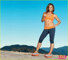jillian michaels self 04 Jillian Michaels shows off her toned tummy in this photo shoot from Self's January issue.    Here's what the 37-year-old celeb trainer, who's also the mag's…