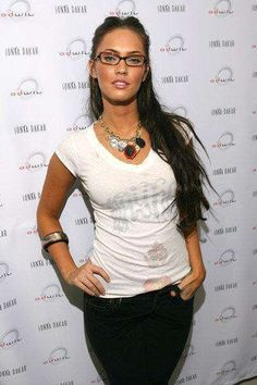 04e756cdd250 Megan Fox is wearing Lafont Karima in black and tortoise. This is a  gorgeous