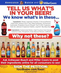 Clean Beer Choices - Beer Companies That Tell Us What's In Their Beer! - Food Babe