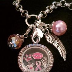 Design your own Awareness locket at  http://www.2day2morrow4ever.origamiowl.com To support breast cancer awareness month this October