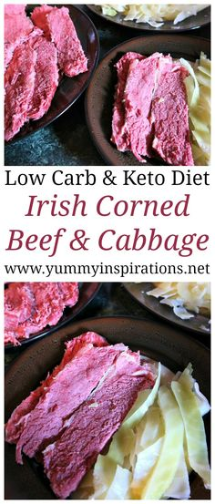 Authentic Irish Corned Beef and Cabbage Recipe - an easy low carb keto diet dinner idea