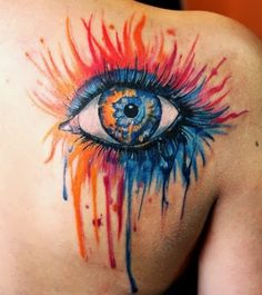 I see I'm not the only one who digs eye tattoos
