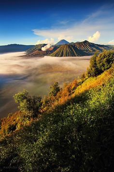 BROMO NATIONAL PARK  LOCATION ; EAST JAVA - INDONESIA