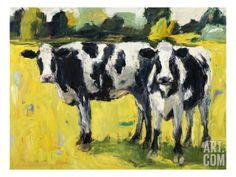 Dairy Farm III Art Print by Dale Payson at Art.com