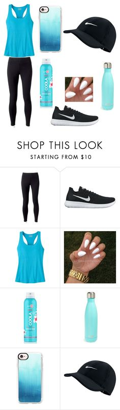 """Exercise Style"" by rilosqueeze ❤ liked on Polyvore featuring Jockey, NIKE, Mountain Khakis, COOLA Suncare, S'well and Casetify"