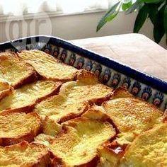 Rabanada de forno @ allrecipes.com.br