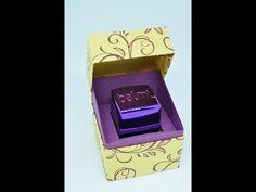 Tutorial: Lippenbalsam Balmi verpacken mit Stampin' Up! - YouTube