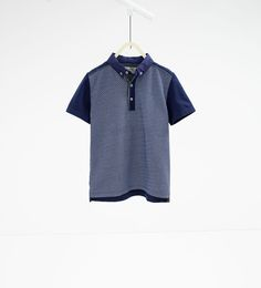 Image 1 of Printed polo shirt from Zara Boys Summer Outfits, Summer Clothes, Zara Official Website, Printed Polo Shirts, Kind Mode, Boy Fashion, Kids Boys, Menswear, Prints