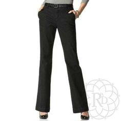 """Coldwater Creek Black Denim Trouser Great Black Denim Trouser with natural waist and bootcut leg. ▪ Made of premium stretch denim. Waist: 30"""" inches, Hips: 39.5"""" inches, Inseam: 32"""" inches.   All Measurements are approximate  Brand New with Tag. Never worn.   ✨ FINAL PRICE ~ NO OFFERS ✨    PRICE IS FIRM unless bundled    All Sales Final 