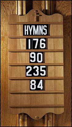 Hymn Board~