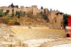 Alcazaba Roman Theater - Malaga, Spain