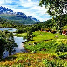 One more beautiful day in Innerdalen  #innerdalen  #innerdalturisthytte