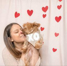 dog mom kisses   dog bandana   mom and dog   valentines day dog photo   dog mom valentines day photo shoot   the deluxe pup Valentines Day Dog, Valentines Day Photos, New Product, Product Launch, Signature Collection, Dog Bandana, Dog Accessories, Dog Photos, New Beginnings