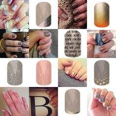 Neutral but never boring! See more like these at http://lexie.austin.jamberrynails.net/