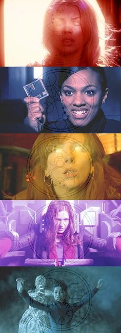 companions of the Doctor and their Gallifreyan name. I think the companions don't get enough credit. Without them it's just a goofy guy running around time and space.