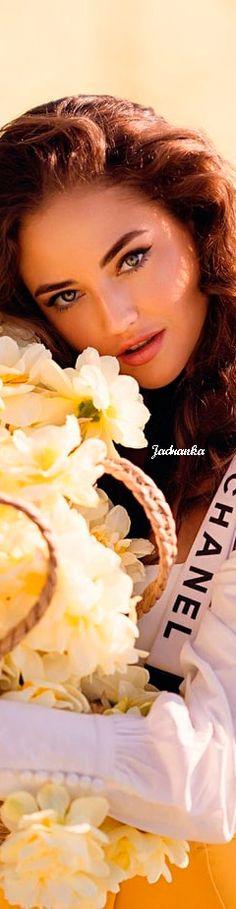 Kristina Krayt #KristinaKrayt #Chanel #spring #Jadranka Kristina Krayt, Romantic Girl, Very Grateful, Chanel Spring, One Color, Baskets, Glamour, Magic, Touch