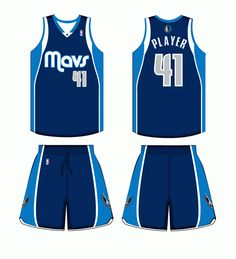 608ae3b14b9b Dallas Mavericks Alternate Uniform 2012-2015 Dallas Mavericks