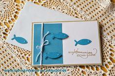 Card communion - kort konfirmation - Karte Zur Kommunion alles Liebe #fish christ symbol