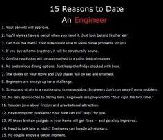 Dating engineer girl