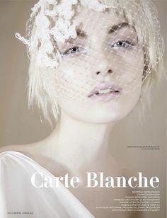 Model: Emma Maclaren | Photographer: Sohrab Vahdat - 'Carte Blanche' for L'Officiel Ukraine, April 2012