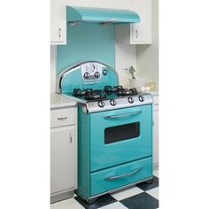 Retro Kitchen Appliances : Big Chill, Elmira Northstar, Retro Refrigerator, vintage wall ovens, Retro Ranges, Retro Microwaves, Range Hoods found on Polyvore