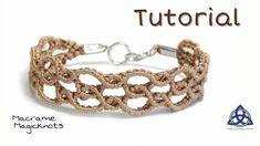 Macrame Bracelet Tutorial Super Easy Wavy by Macrame Magic Knots