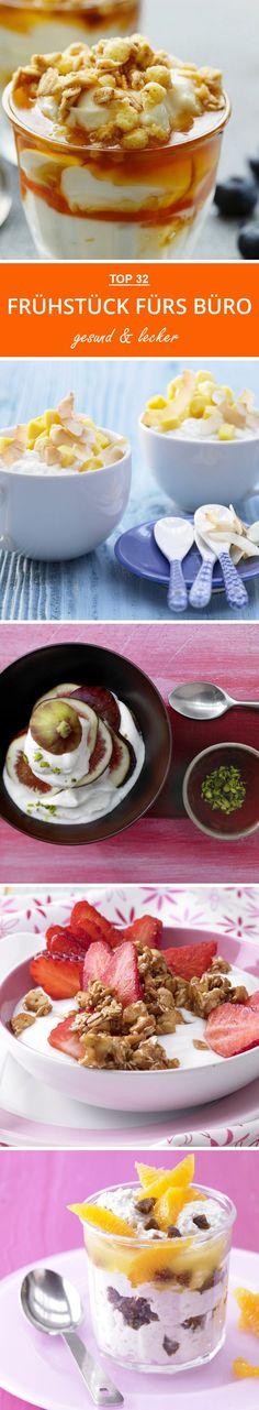 Frühstück   Rezepte Fürs Büro. Die Top 32 Smarten Frühstücksrezepte Von  Porridge Bis Knuspermüsli.