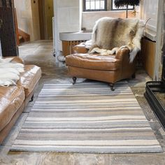 Woodland birch rugs in blue and grey buy online from the rug seller uk