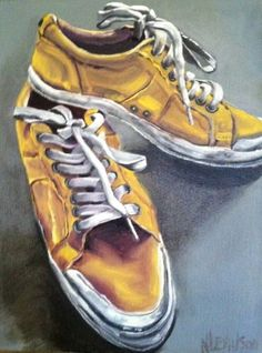 Yellow Shoes by CFAI member Nancy Taylor Levinson $175