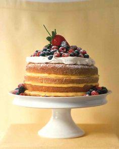 1-2-3-4 Lemon Cake | #easter #dessert #cake