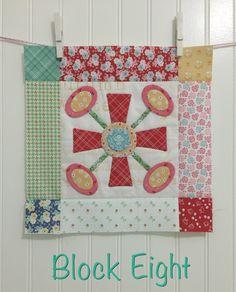 Bee In My Bonnet: BLOOM Sew Along - Week 8 - Block Eight!!