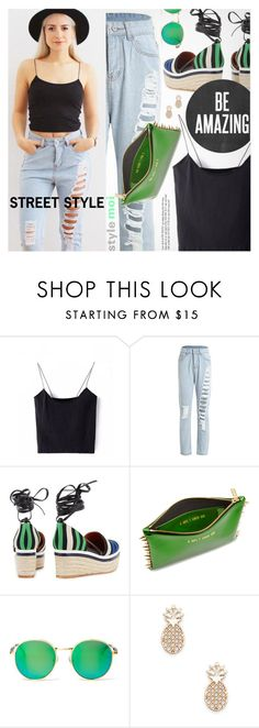 """Street Style"" by black-fashion83 ❤ liked on Polyvore featuring Lanvin, Wildfox, Sole Society, polyvoreeditorial, polyvoreset and stylemoi"
