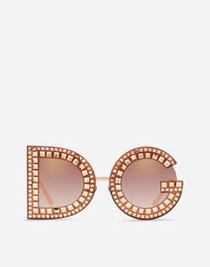Dg Glitter Sunglasses by Dolce & Gabbana Dolce & Gabbana, Latest Sunglasses, Sunglasses Women, Luxury Sunglasses, Summer Accessories, Sunglasses Accessories, Swag Girl Style, Gold Glitter, Metallica