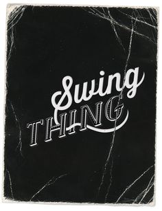 Logo sketch / Swing Thing / Electro Swing Band by Kika Novosadova, via Behance