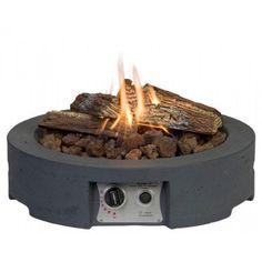 Cocoon Round Gas Table Top Firepit   Internet Gardener
