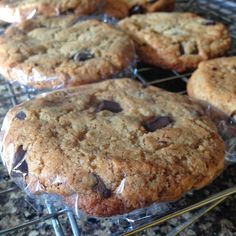 flame to fork: Seriously CHEWY Chocolate Chip Cookies (grain-free...
