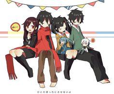 Ayano, Shintaro, Takane & Haruka | Kagerou Project