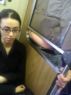 Things you'll see on public transportation