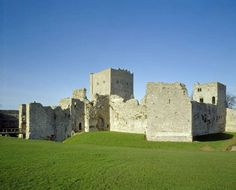 Portchester Castle near Portsmouth